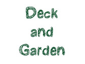 Logo Deck and Garden